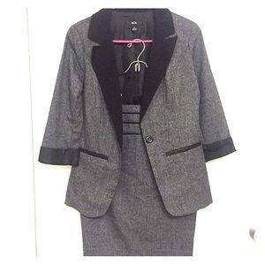 BCX Women's Blazer/Pencil Skirt Suit
